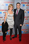 "HOLLYWOOD, CA. - October 19: Producer Maryann Garger and Director David Bowers arrive at the ""Astro Boy"" Los Angeles premiere at Grauman's Chinese Theatre on October 19, 2009 in Los Angeles, California."