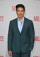 "9 August 2018-  Westwood, California - Rich Ting. Premiere Of STX Films' ""Mile 22"" held at The Regency Village Theatre. Photo Credit: Faye Sadou/AdMedia"