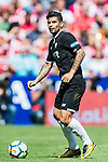 Ever Maximiliano Banega of Sevilla FC in action during the La Liga 2017-18 match between Atletico de Madrid and Sevilla FC at the Wanda Metropolitano on 23 September 2017 in Wanda Metropolitano, Madrid, Spain. Photo by Diego Gonzalez / Power Sport Images