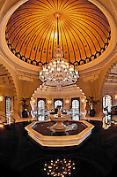 A wonderful example of the beautiful architecture to be seen inside the Oberoi Udaivilas. (Photo by Matt Considine - Images of Asia Collection)