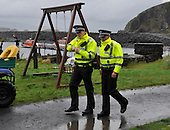 The Craft Centre and Museum on Easdale - Argyll - which was robbed of approx £200 in cash and a wallet taken during the world Stone Skimming Championships this afternnon. In response to a call from islanders Police made a rare attendance to the island - which is reached by a small open-boat ferry from the Isle of Seil (itself an island south of Oban which was the home of Frances Shand-Kydd - grandmother to Prince William). The Championships attracted over 300 entries from all round the world - picture by Donald MacLeod - 25.9.11 - clanmacleod@btinternet.com 07702 319 738 donald-macleod.com