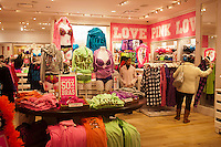 A Victoria's Secret Pink store at the Queens Center Mall in the borough of Queens in New York over the Black Friday weekend, on Saturday, November 26, 2011. Sales for Black Friday this year show a 6.6 percent increase from 2010 with retailers hoping that the increased numbers and foot traffic bodes well for the Christmas season. Many stores were open extra hours, some as early as 9PM on Thanksgiving, contributing to the extra foot traffic.  (© Richard B. Levine)