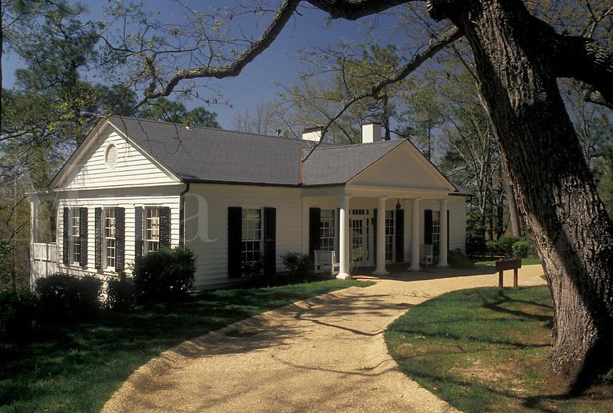 """The Little White House, Warm Springs, FDR, Georgia, GA, Franklin Delano Roosevelt's """"""""Little White House"""""""" in Warm Springs at the Little White House State Historic Site."""