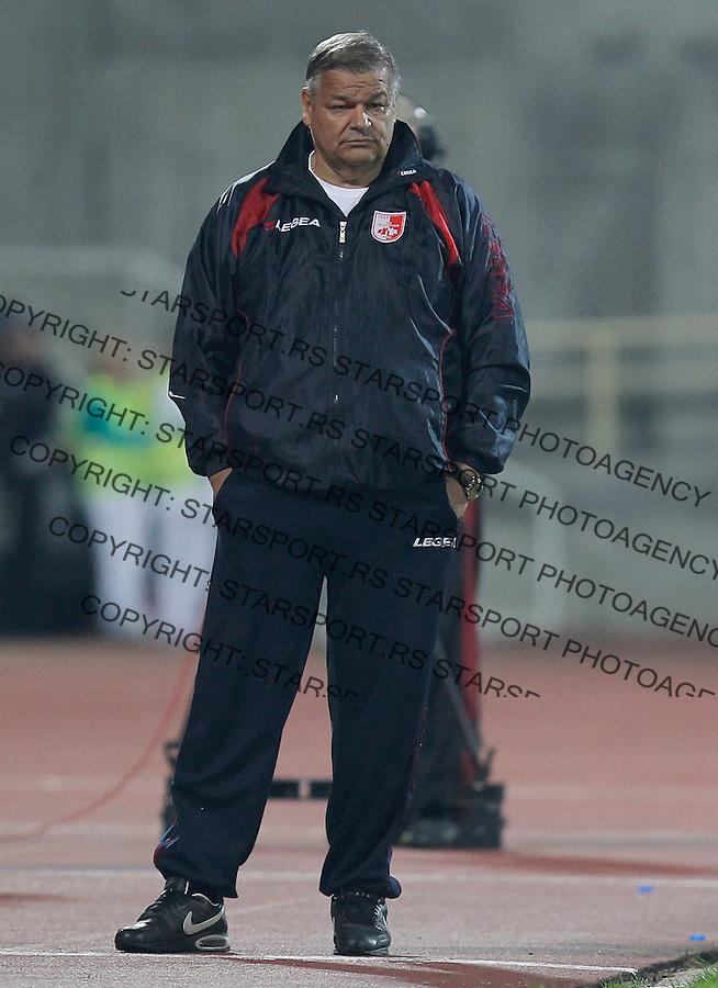 Fudbal Super liga season 2013-2014<br /> Radnicki Nis v Crvena Zvezda<br /> Head coach Dragoljub Bekvalac<br /> Nis, 26.10.2013.<br /> foto: Srdjan Stevanovic/Starsportphoto &copy;