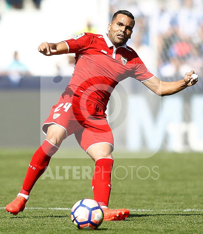 Sevilla FC's Gabriel Mercado during La Liga match. October 15,2016. (ALTERPHOTOS/Acero)