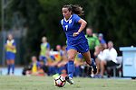 19 August 2016: Duke's Taylor Racioppi. The Duke University Blue Devils played the Wofford College Terriers in a 2016 NCAA Division I Women's Soccer match. Duke won the game 9-1.