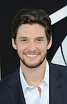 "Ben Barnes arriving to the Los Angeles premiere of ""Pacific Rim"" held at the Dolby Theater on July 9, 2013."