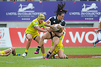 Portia Woodman of New Zealand during the Final women match between New Zealand and Australia at the HSBC Paris Sevens, stage of the Rugby Sevens World Series at Stade Jean Bouin on June 10, 2018 in Paris, France. (Photo by Sandra Ruhaut/Icon Sport)
