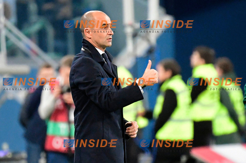 Roberto Martinez head coach of Belgian Team  <br /> Saint Petersbourg  - Qualification Euro 2020 - 16/11/2019 <br /> Russia - Belgium <br /> Foto Photonews/Panoramic/Insidefoto <br /> ITALY ONLY