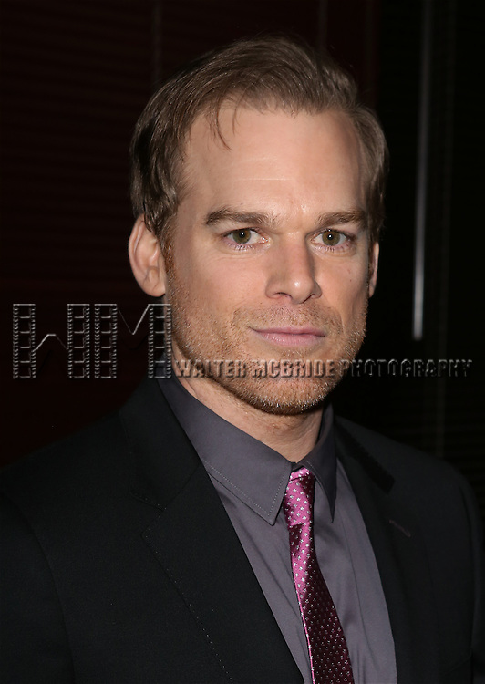 Michael C. Hall  attends the Broadway Opening Night Performance After Party for 'The Realistic Joneses'  at the The Red Eye Grill on April 6, 2014 in New York City.