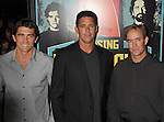 LOS ANGELES, CA - OCTOBER 18: Greg Long, Peter Mel and Zac Wormhoudt arrive at the 'Chasing Mavericks' - Los Angeles Premiere at Pacific Theaters at the Grove on October 18, 2012 in Los Angeles, California.