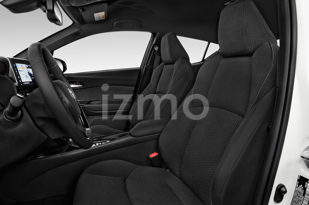 Front seat view of a 2018 Toyota C-HR C-LUB 5 Door SUV front seat car photos