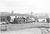 K-28 #478 switching in Durango.<br /> D&amp;RGW  Durango, CO  Taken by Horan, John F. - 7/1954