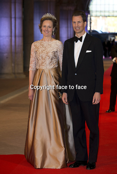 29-04-2013 Rijksmuseum Dinner offered by the Queen at the eregalerij at the Rijksmuseum in Amsterdam...Alois and sophie of Liechtenstein....Credit: PPE/face to face..- No Rights for Netherlands -