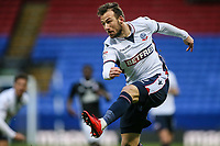 Bolton Wanderers' Adam Le Fondre scores his side's first goal<br /> <br /> Photographer Andrew Kearns/CameraSport<br /> <br /> The EFL Sky Bet Championship - Bolton Wanderers v Fulham - Saturday 10th February 2018 - Macron Stadium - Bolton<br /> <br /> World Copyright &copy; 2018 CameraSport. All rights reserved. 43 Linden Ave. Countesthorpe. Leicester. England. LE8 5PG - Tel: +44 (0) 116 277 4147 - admin@camerasport.com - www.camerasport.com