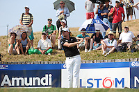 James Morrison (ENG) drives down the 17th during Round Three of the 2015 Alstom Open de France, played at Le Golf National, Saint-Quentin-En-Yvelines, Paris, France. /04/07/2015/. Picture: Golffile | David Lloyd<br /> <br /> All photos usage must carry mandatory copyright credit (© Golffile | David Lloyd)