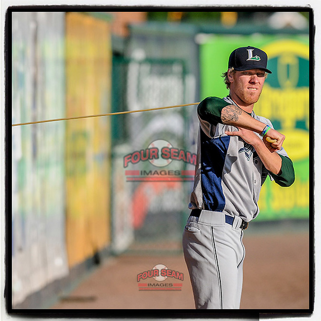#OTD On This Day, May 2, 2012, starting pitcher Mike Foltynewicz (25) of the Lexington Legends warmed up before a game against the Greenville Drive at Fluor Field at the West End in Greenville, South Carolina. Folty pitched 6 innings to get the win. He now is a starter with Atlanta. (Tom Priddy/Four Seam Images) #MiLB #OnThisDay #MissingBaseball #nobaseball #stayathome #minorleagues #minorleaguebaseball #Baseball #SallyLeague #AloneTogether #Braves