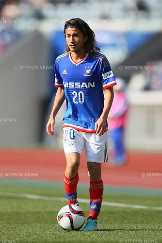 Yuhei Sato (F Marinos), <br /> FEBRUARY 21, 2015 - Football / Soccer :<br /> 2015 J.League Pre-season match between <br /> Yokohama F Marinos 0-1 Matsumoto Yamaga FC <br /> at Nissan Stadium in Kanagawa, Japan. <br /> (Photo by Yohei Osada/AFLO SPORT) [1156]