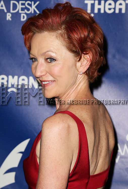 Julie White attends the 2015 Drama Desk Awards at Town Hall on May 31, 2015 in New York City.