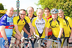 Currow cyclists at the Currow Cycling club annual 100km cycle in Currow Sunday morning l-r: Tom Kenny, Eamon Collier, Mike Fleming, David Costello, Adrian Shanahan, Stephen Key and Marcos Cronin