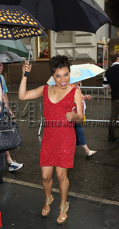 Shalita Grant attending the 69th Annual Theatre World Awards at the Music Box Theatre in New York City on June 03, 2013.
