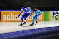 SCHAATSEN: HEERENVEEN; 14-10-2014, IJstadion Thialf, KNSB Topsport-training, ©foto Martin de Jong
