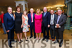 At the Fine Gael celebration in honour of Jimmy Deenihan in The Rose Hotel on Friday were l-r Minister for Enterprise and Innovation Pat Breen, Bernice Hoffman, Annette Egan, Jimmy Deenihan, Mary Deenihan, Minister for Justice and Equality Charlie Flanagan, Senators Jerry Buttimer, Mick Egan
