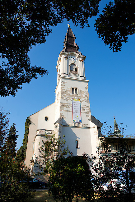 The Kalvin Church , Hungary Kecskemét