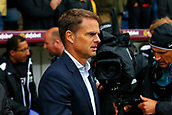 10th September 2017, Turf Moor, Burnley, England; EPL Premier League football, Burnley versus Crystal Palace; Under pressure Crystal Palace Manager Frank de Boer watches on from the sideine