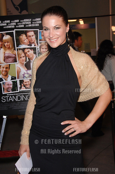 Actress EVA DERREK at the Los Angeles premiere of Standing Still..April 10, 2006 Los Angeles, CA.© 2006 Paul Smith / Featureflash