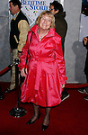 "HOLLYWOOD, CA. - December 18: Actress Kathryn Joosten arrives at the Los Angeles premiere of ""Bedtime Stories"" at the El Capitan Theatre on December 18, 2008 in Hollywood, California."