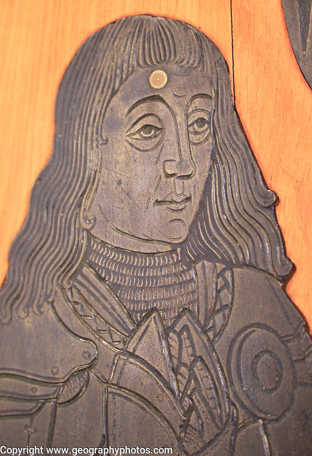 Brass memorial Sir Thomas Wingfield circa 1496, church of Saint Mary, Letheringham, Suffolk, England, UK
