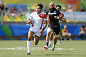 Teruya Goto (JPN),<br /> AUGUST 9, 2016 - / Rugby Sevens : <br /> Men's Pool Round <br /> between New Zeland 12-14 Japan <br /> at Deodoro Stadium <br /> during the Rio 2016 Olympic Games in Rio de Janeiro, Brazil. <br /> (Photo by Yusuke Nakanishi/AFLO SPORT)