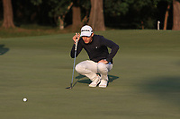 Joakim Lagergren (SWE) on the 13th green during Round 1 of the UBS Hong Kong Open, at Hong Kong golf club, Fanling, Hong Kong. 23/11/2017<br /> Picture: Golffile | Thos Caffrey<br /> <br /> <br /> All photo usage must carry mandatory copyright credit     (&copy; Golffile | Thos Caffrey)