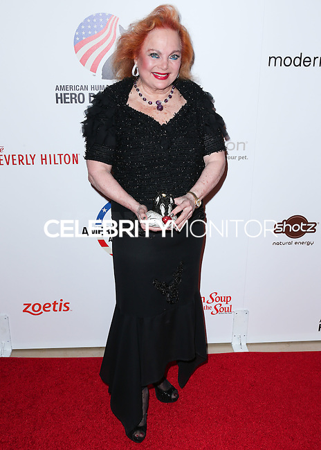 BEVERLY HILLS, CA, USA - SEPTEMBER 27: Carol Connors arrives at the 4th Annual American Humane Association Hero Dog Awards held at the Beverly Hilton Hotel on September 27, 2014 in Beverly Hills, California, United States. (Photo by Xavier Collin/Celebrity Monitor)