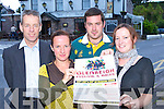 Launching the Glenbeigh festival and races which will held from the 22nd-24th August in the Towers Hotel Glenbeigh on Wednesday evening was l-r: Denis Coakley, Ciara Sweeney, Philip McGillicuddy and Leta Sweeney   Copyright Kerry's Eye 2008