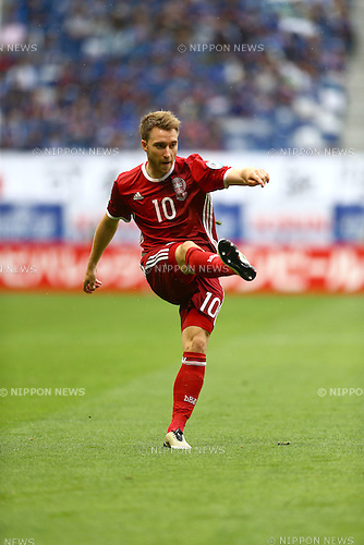 Christian Eriksen (DEN),<br /> JUNE 7, 2016 - Football / Soccer :<br /> Kirin Cup Soccer 2016 3rd Place Playoff match between Denmark 4-0 Bulgaria at Suita City Football Stadium in Osaka, Japan. (Photo by Kenzaburo Matsuoka/AFLO)