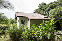 A cabin at the hotel, Osa Clandestina (aka Hacienda Clandesina), on Derek Ferguson's property in Peninsula de Osa, Puntarenas, Costa Rica. CREDIT: Lisa Corson for The Wall Street Journal     SLUG: OFFGRID-Costa Rica Images are available for editorial licensing, either directly or through Gallery Stock. Some images are available for commercial licensing. Please contact lisa@lisacorsonphotography.com for more information.