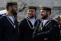 Roma, 2 Giugno 2017<br /> Giovani militari della Marina Militare<br /> 71&deg;anniversario Festa della Repubblica
