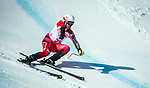 PyeongChang 13/3/2018 - Kirk Schornstein skis in the super-G portion of the super combined at the Jeongseon Alpine Centre during the 2018 Winter Paralympic Games in Pyeongchang, Korea. Photo: Dave Holland/Canadian Paralympic Committee