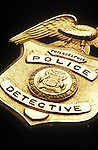 Philadelphia Detective Badge