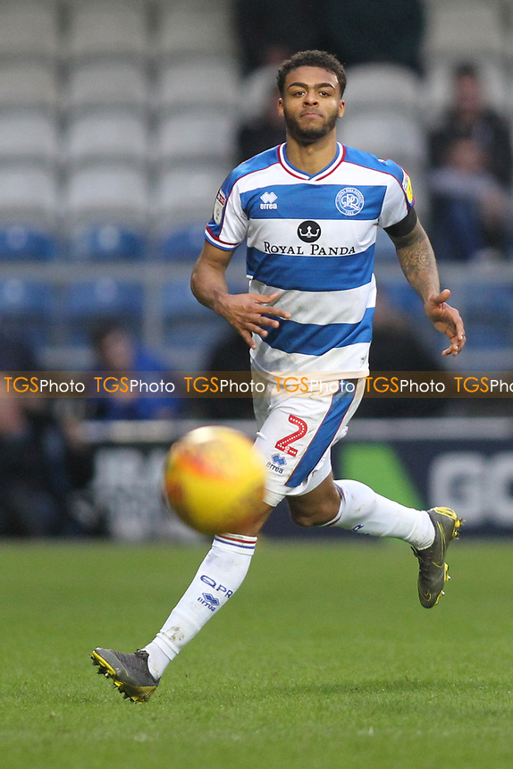 Darnell Furlong of QPR during Queens Park Rangers vs Birmingham City, Sky Bet EFL Championship Football at Loftus Road Stadium on 9th February 2019