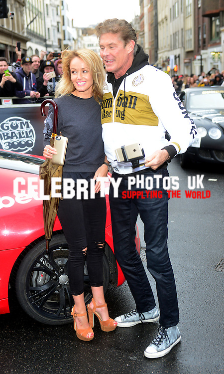 at The Gumball 3000 Rally Regent Street 2nd may 2016 London