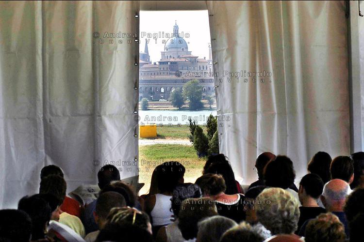 Mantova, Festival della Letteratura.<br /> Mantova, Literature Festival.