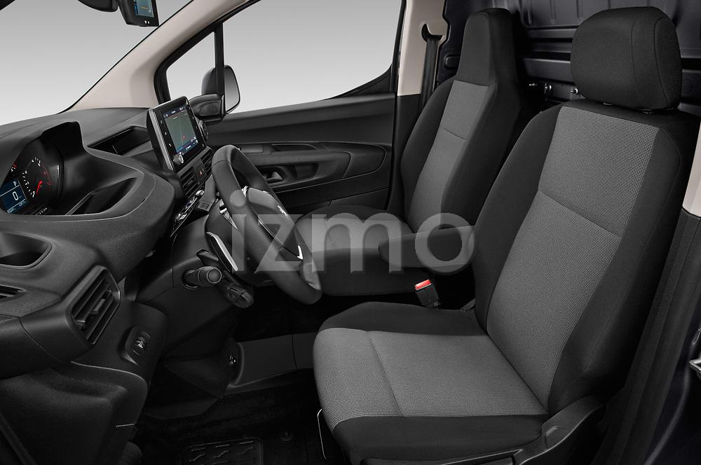 Front seat view of 2019 Peugeot Partner Pemium 4 Door Car Van Front Seat  car photos
