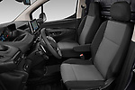 Front seat view of 2019 Peugeot Partner Pemium 4 Door Car Van Front Seat  car photos