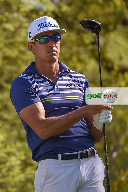 Rafael Cabrera Bello (ESP) watches his tee shot on 12 during day 1 of the WGC Dell Match Play, at the Austin Country Club, Austin, Texas, USA. 3/27/2019.<br /> Picture: Golffile | Ken Murray<br /> <br /> <br /> All photo usage must carry mandatory copyright credit (© Golffile | Ken Murray)