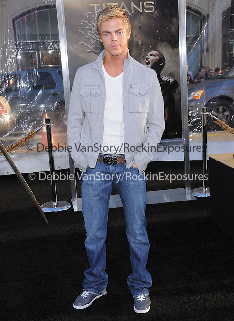 Derek Hough at The Warner Bros. Pictures L.A. Premiere of Clash of The Titans held at The Grauman's Chinese Theatre in Hollywood, California on March 31,2010                                                                   Copyright 2010  DVS / RockinExposures