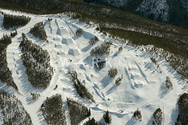 Keystone Ski Area. March 2014
