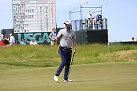 Bernd Wiesberger (AUT) putts on the 6th green during Friday's Round 2 of the 117th U.S. Open Championship 2017 held at Erin Hills, Erin, Wisconsin, USA. 16th June 2017.<br /> Picture: Eoin Clarke | Golffile<br /> <br /> <br /> All photos usage must carry mandatory copyright credit (&copy; Golffile | Eoin Clarke)